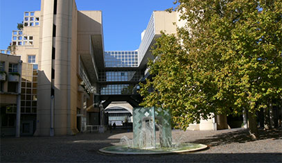 Image of one of the French partner universities' campus.